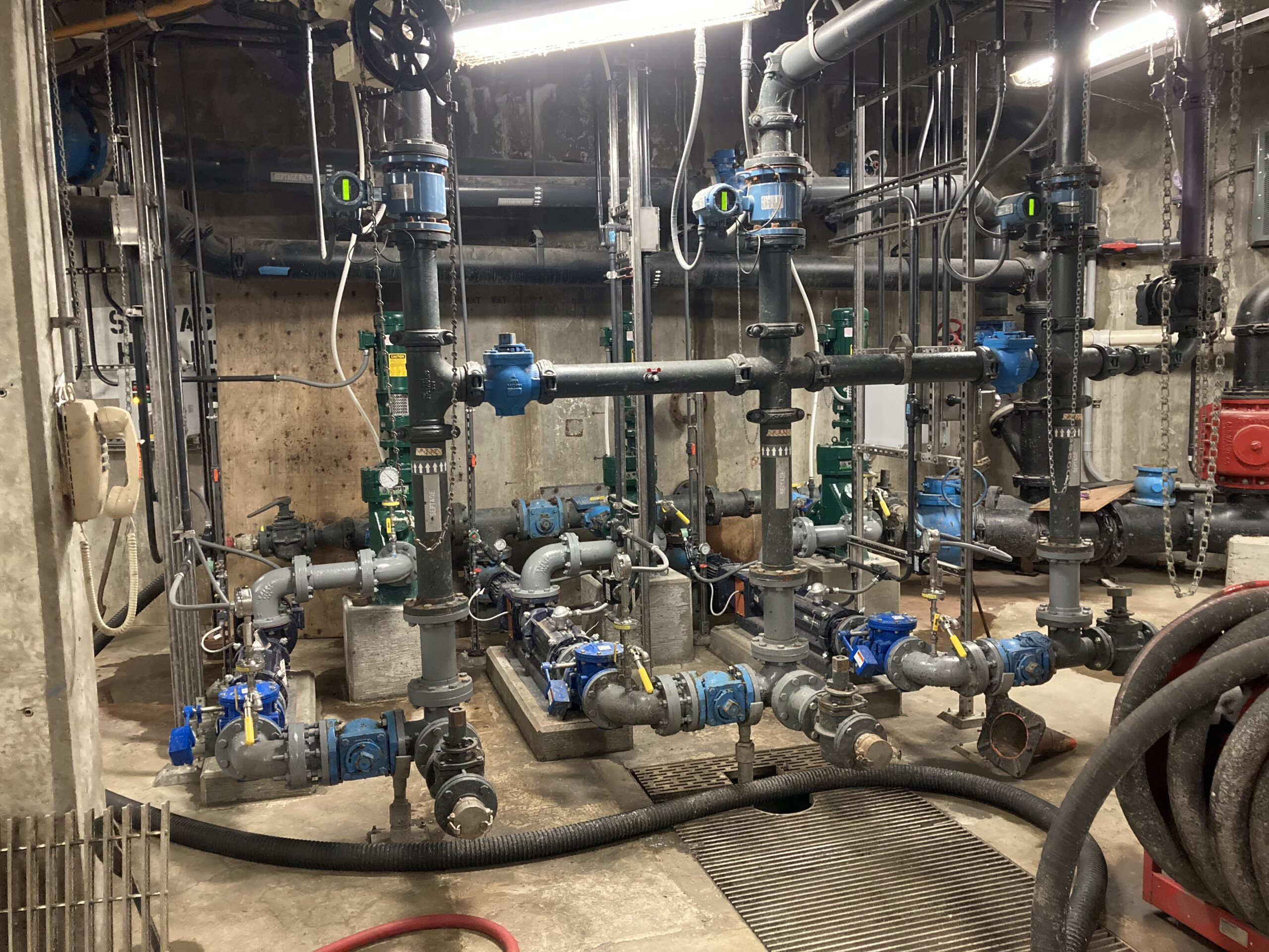 I1802-Septage Pumps & Piping