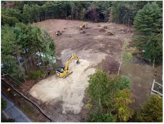 Cooke Stump Excavation & stockpiling