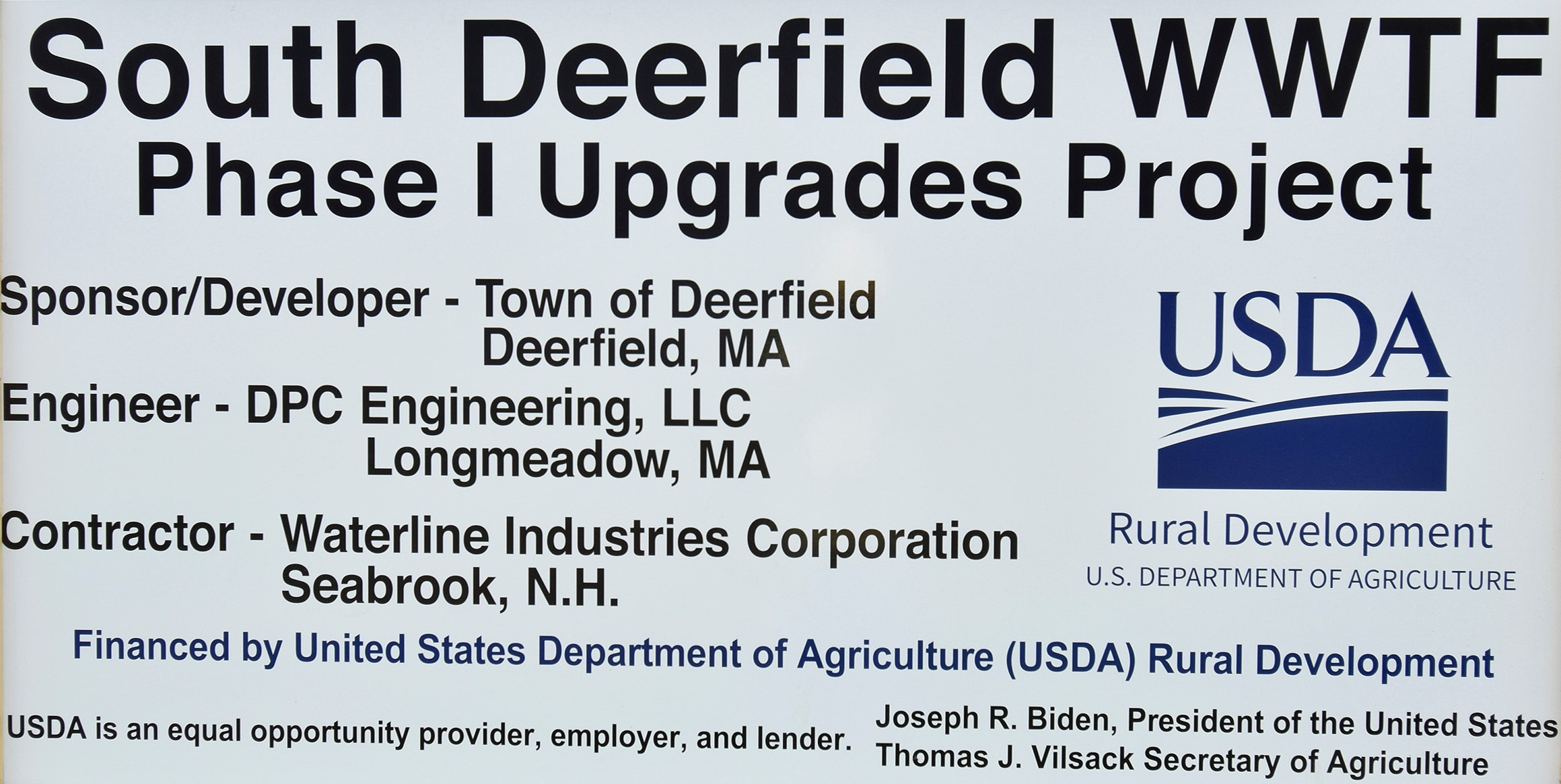 I2104-Deerfield Project Sign