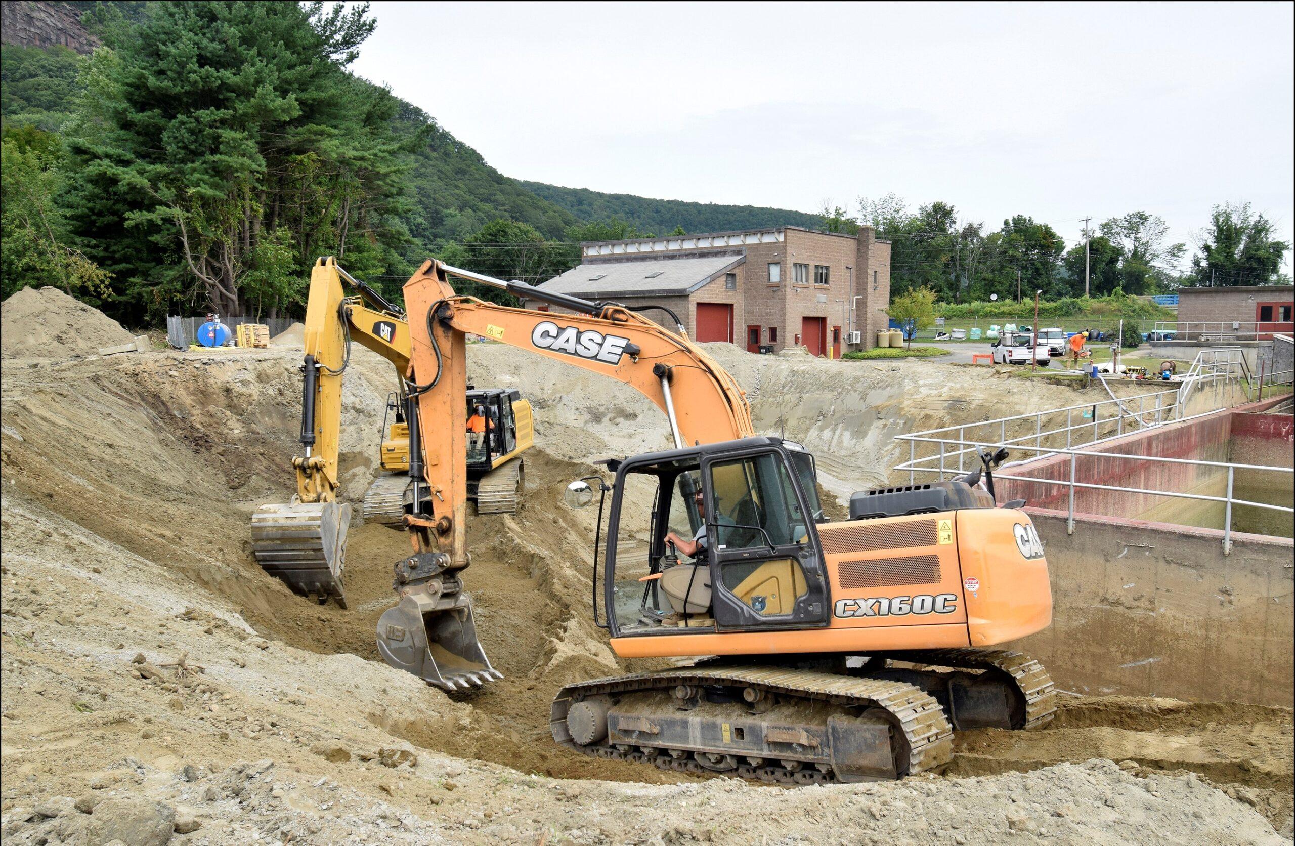 I2105-Clarifier Excavation